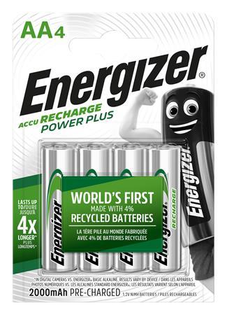 Tölthető elem, AA ceruza, 4x2000 mAh, ENERGIZER