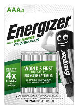 Tölthető elem, AAA mikro, 4x700 mAh, ENERGIZER