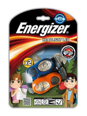 Fejlámpa, 2 db, 1 LED, ENERGIZER