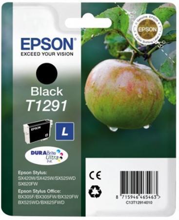T12914012 Tintapatron Stylus SX420W, SX425W, SX525WD nyomtatókhoz, EPSON fekete, 11,2ml