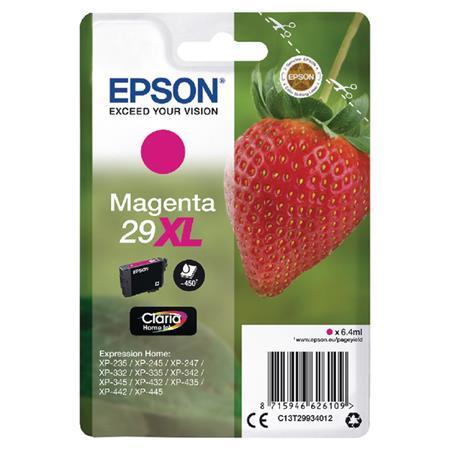C13T29934012 Tintapatron XP245 nyomtatóhoz, EPSON, magenta, 6,4ml