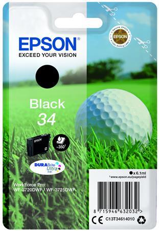 T34614010 Tintapatron WorkForce WF-3720DWF nyomtatóhoz, EPSON, fekete, 6,1 ml