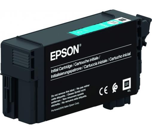 T40C240 Tintapatron  SC-T3100, T5100, T3100N, T5100N nyomtatókhoz, UltraChrome XD2, , EPSON, cián, 26 ml