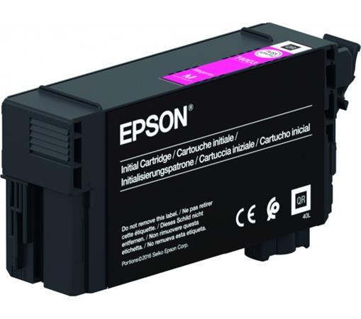 T40C340 Tintapatron, SC-T3100, T5100, T3100N, T5100N nyomtatókhoz, UltraChrome XD2, , EPSON, magenta, 26 ml