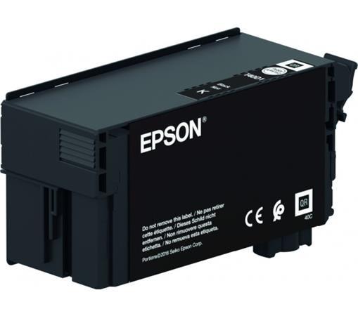 T40D140 Tintapatron, SC-T3100, T5100, T3100N, T5100N nyomtatókhoz, UltraChrome XD2, EPSON, fekete, 80 ml