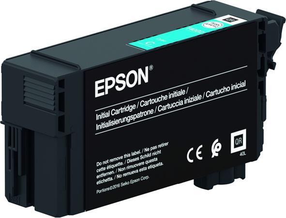 T40D240 Tintapatron SC-T3100, T5100, T3100N, T5100N nyomtatókhoz, UltraChrome XD2, EPSON, cián, 50ml
