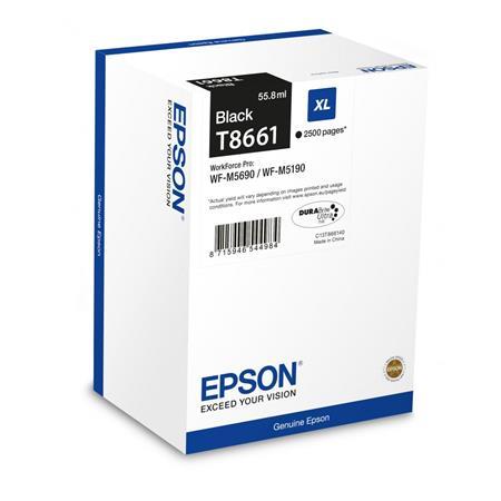 T8661 Tintapatron WP-M5690DWF, WP-M5190DW nyomtatókhoz, EPSON fekete, 2,5k