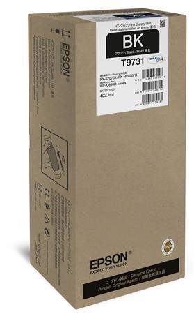 T973100 Tintapatron WorkForce Pro WF-C869RDTWF nyomtatókhoz, EPSON, fekete, 402,1 ml