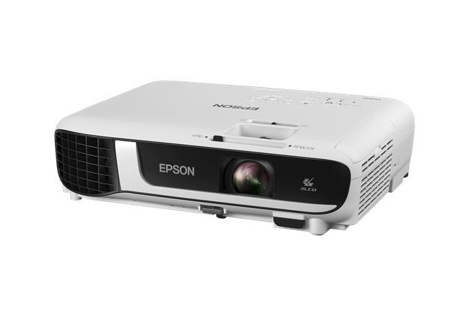 Projektor, 3LCD, WXGA, 4000 lumen, EPSON