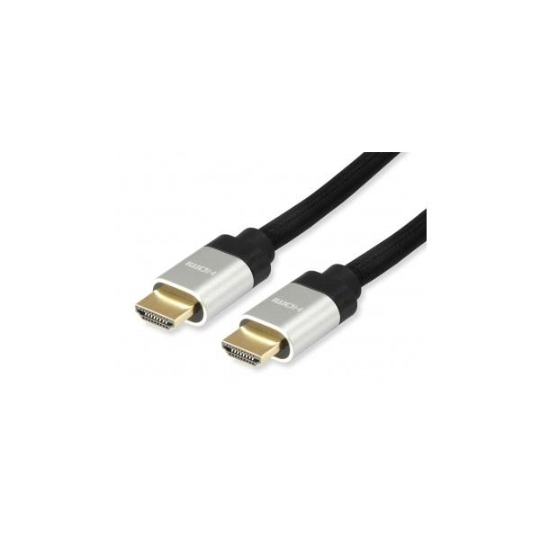 HDMI 2.1 kábel, Ultra High Speed, aranyozott, 3 m, EQUIP