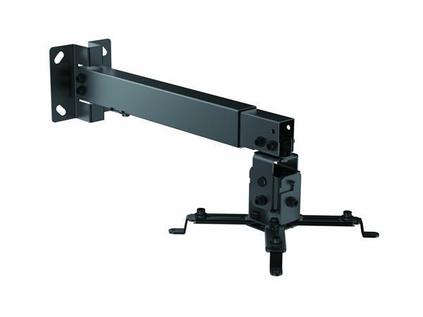 Projektor konzol, fali, forgatható, dönthető, állítható magasság, EQUIP