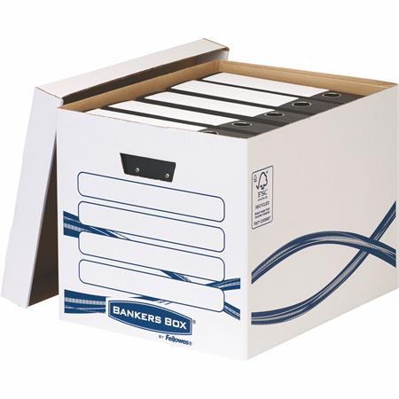Archiváló konténer, karton, FELLOWES,