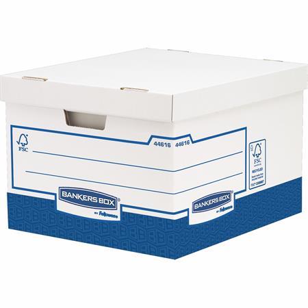 Archiváló konténer, karton, extra erős, nagy, FELLOWES