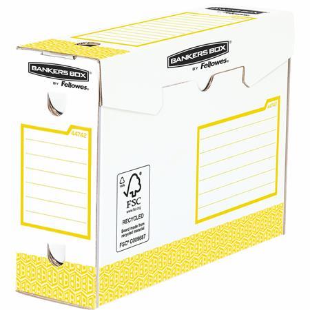 Archiváló doboz, extra erős, A4+, 100 mm, FELLOWES