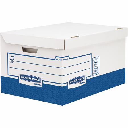 Archiváló konténer, karton, ultra erős, nagy, FELLOWES