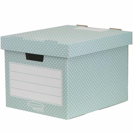 Tároló doboz, karton, 33,3x28,5x39 cm FELLOWES,