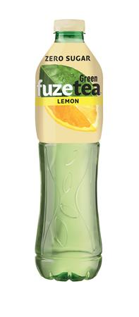 Üdítőital, szénsavmentes, 1,5 l, FUZETEA ZERO, zöld tea citrus