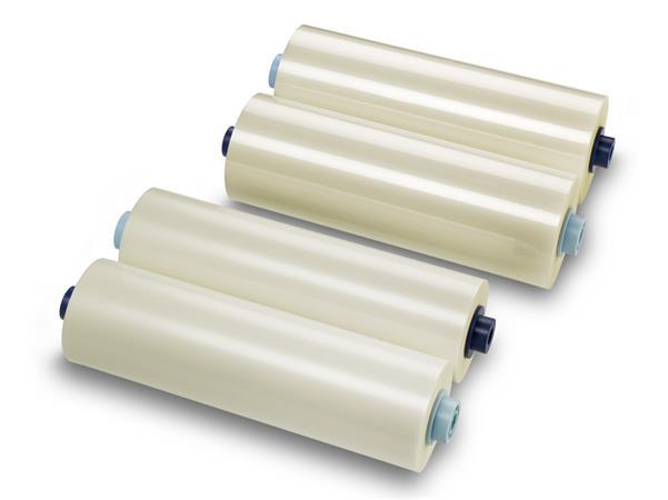 Meleglamináló fólia, 42 mikron, 305 mm x 150 m, fényes, tekercses, GBC