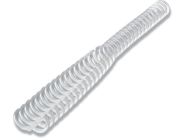 Spirál, műanyag, 12 mm, 95 lap, GBC