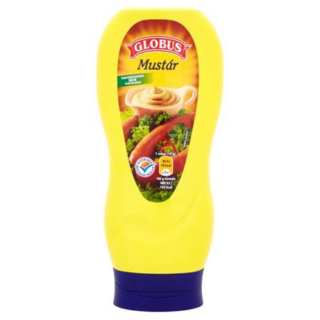 Mustár, 440 g, GLOBUS