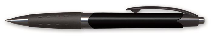 Golyóstoll, 0,4 mm, nyomógombos, vegyes színű test, GRANIT