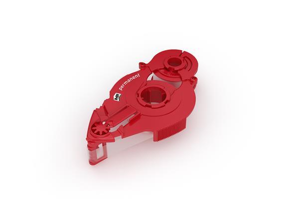 Ragasztó roller utántöltő kazetta, tartós, 8,4 mm x 16 m, HENKEL