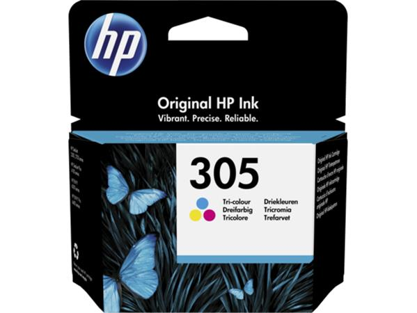 3YM60AE Tintapatron Deskjet 2320,2710, 4120 nyomtatókhoz, HP 305, színes, 100 oldal