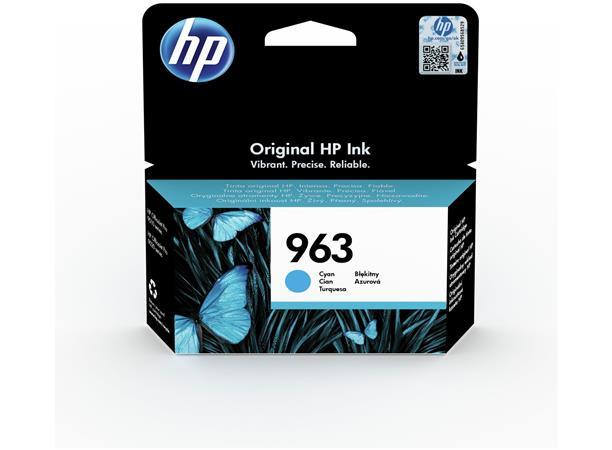 3JA23AE Tintapatron OfficeJet Pro 9010, 9020 nyomtatókhoz, HP 963, cián, 700 oldal