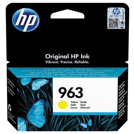 3JA25AE Tintapatron OfficeJet Pro 9010, 9020 nyomtatókhoz, HP 963, sárga, 700 oldal