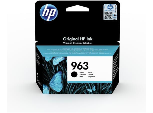 3JA26AE Tintapatron OfficeJet Pro 9010, 9020 nyomtatókhoz, HP 963, fekete, 1000 oldal
