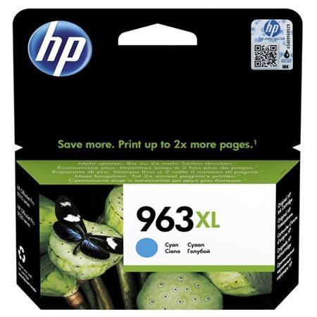 3JA27AE Tintapatron OfficeJet Pro 9010, 9020 nyomtatókhoz, HP 963XL, cián, 1600 oldal