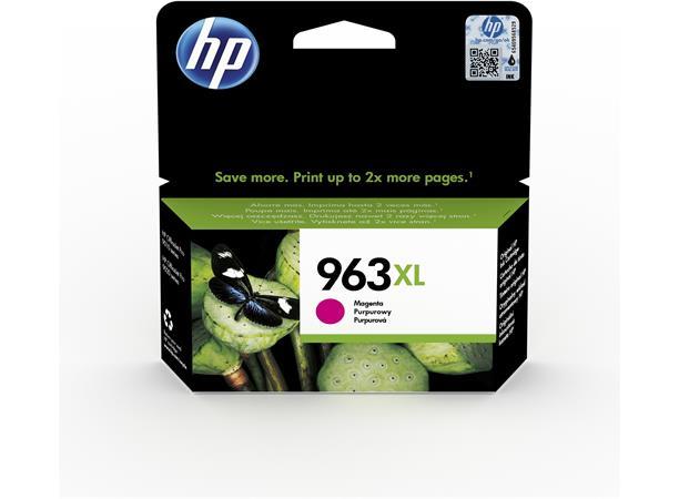 3JA28AE Tintapatron OfficeJet Pro 9010, 9020 nyomtatókhoz, HP 963XL, magenta, 1600 oldal