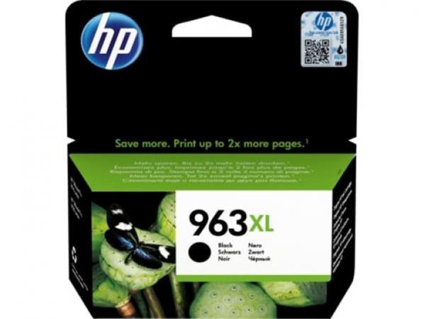3JA30AE Tintapatron OfficeJet Pro 9010, 9020 nyomtatókhoz, HP 963XL, fekete 2000 oldal