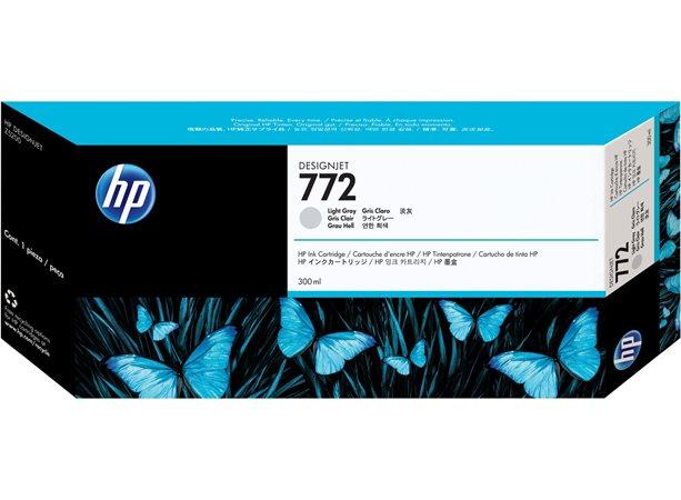 CN634A Tintapatron DesignJet Z5200 nyomtatóhoz, HP 772 világos szürke, 300ml