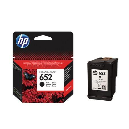 F6V25AE Tintapatron Deskjet Ink Advantage 1115 nyomtatókhoz, HP 652, fekete, 360 oldal
