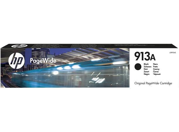 L0R95AE Tintapatron, PageWide 352, 377, PageWide Pro 452, 477 nyomtatókhoz, HP 913, fekete, 3k