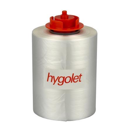 Fóliatekercs, HYGOLET S3500, S3000, és S2000 toalett ülőkéhez, HYGOLET