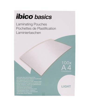 Meleglamináló fólia, 75 mikron, A4, fényes, IBICO