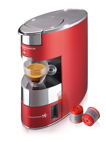 Kávéfőzőgép, kapszulás, ILLY