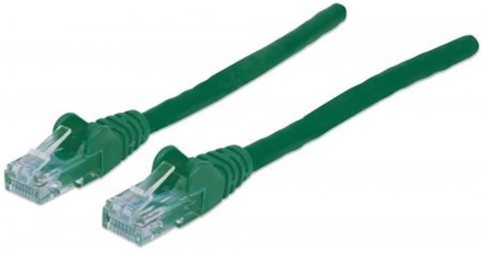 UTP patch kábel, Cat6, 0,5 m, INTELLINET, zöld