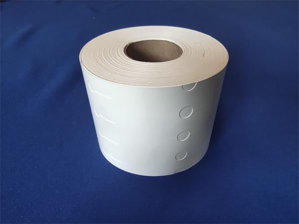 Jelölőszalag, facsemetékhez, 222 x 20 mm, 1 000 szalag/tekercs, fehér