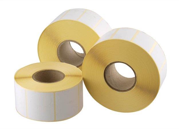Etikett, thermo, 60x58 mm, 700 etikett/tekercs