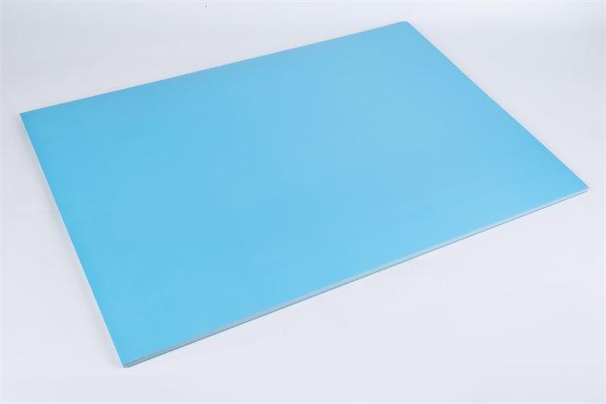 Dekor karton 2 oldalas 48x68 világos kék