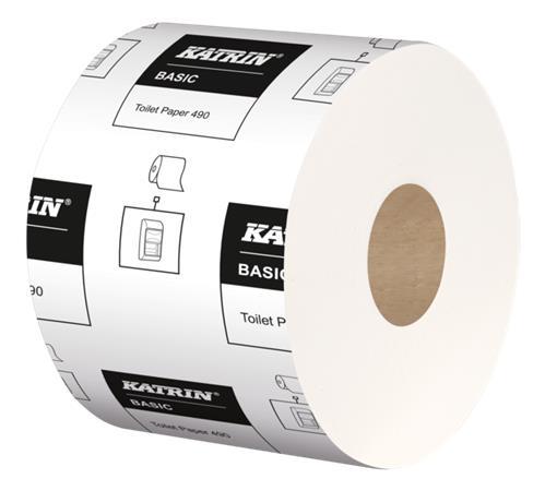 Toalettpapír, 2 rétegű, 68 méter, 36 tekercses, KATRIN