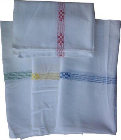 Textil konyharuha, sárga
