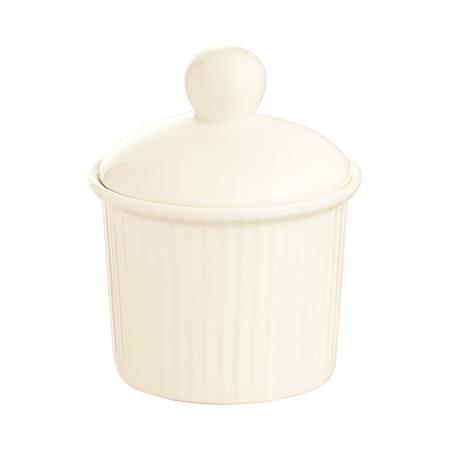 Kínálótál, porcelán, fedővel, hőálló, 6,8 cm