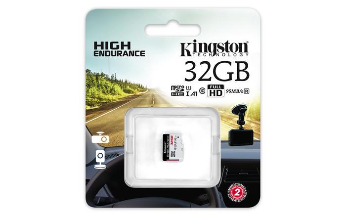 Memóriakártya, microSDHC, 32GB, CL10/U1, A1, 95/30 MB/s, KINGSTON