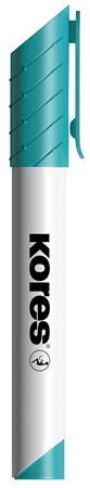 Tábla- és flipchart marker, 1-3 mm, kúpos, KORES