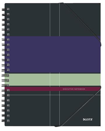 Spirálfüzet, A4, kockás, 80 lap, LEITZ