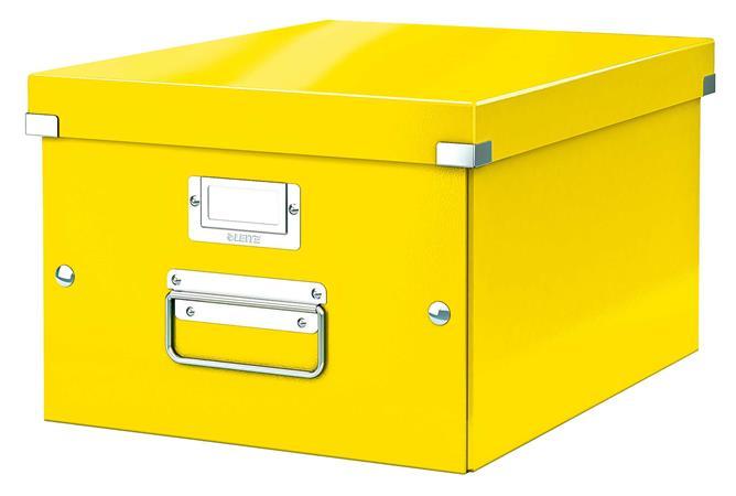Irattároló doboz, A4, lakkfényű, LEITZ